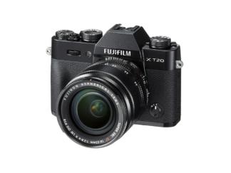 Fuji X-T20 + XF 2,8-4/18-55mm schwarz