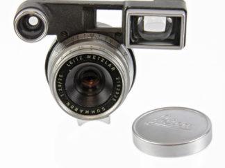 Leitz Summaron-M 2,8/35mm + Brille