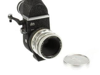 Leitz Visoflex II mit Elmar 3,5/65mm + OTZFO
