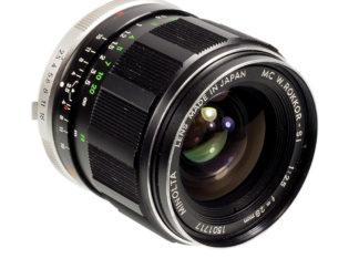 Minolta MC 2,5/28mm