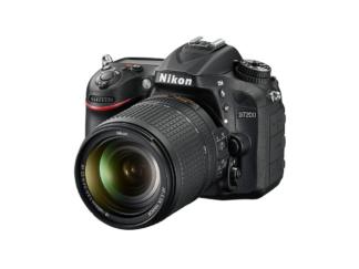 Nikon D7200 + AF-S 3,5-5,6/18-140mm VR