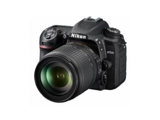 Nikon D7500 + AF-S 3,5-5,6/18-105mm VR