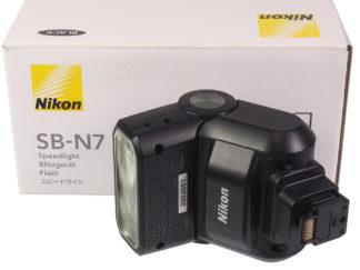 Nikon SB-N7 Blitz zur Nikon 1