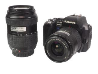 Olympus E-500 Double Zoom Kit