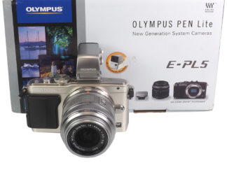 Olympus PEN lite E-PL5 +14-42mm + VF-3