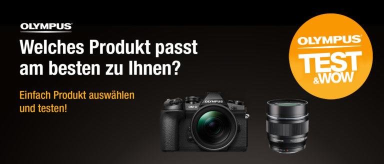 Olympus Test & Wow Kameraverleih - Photohaus.de