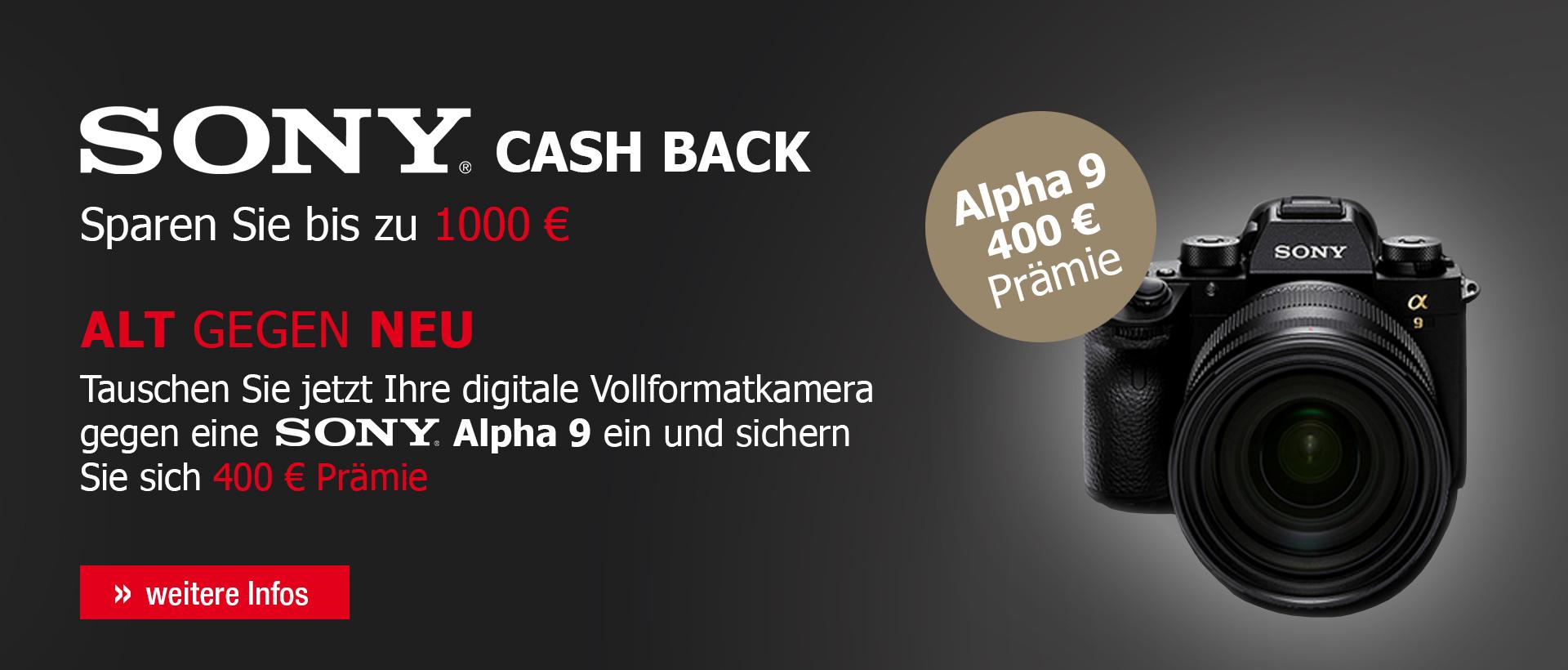 SONY Cashback - Photohaus.de
