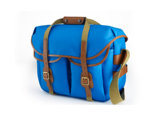 Billingham Hadley Large Pro blue/tan
