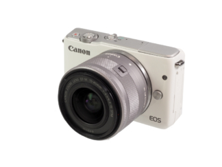 Canon EOS M10 white +3,5-63/15-45mm STM