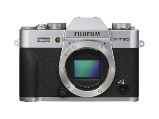 Fuji X-T20 Gehäuse silber
