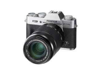 Fuji X-T20 + XC 16-50mm + XC 50-230mm silber