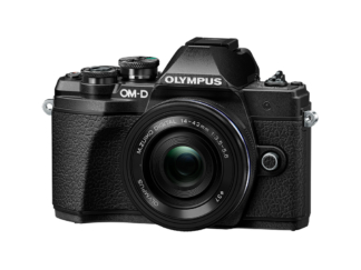 Olympus OM-D E-M10 Mark III 14-42mm EZ Kit schwarz