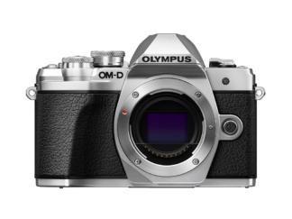 Olympus OM-D E-M10 Mark III Gehäuse silber