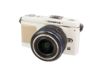 Plympus E-P1 white + 14-42mm