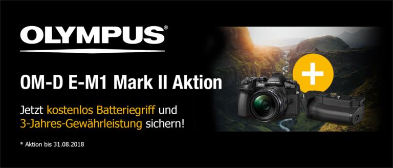 Olympus OM-D E-M1 Mark II Aktion