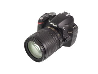 Nikon D3200 + AF-S 18-105mm VR