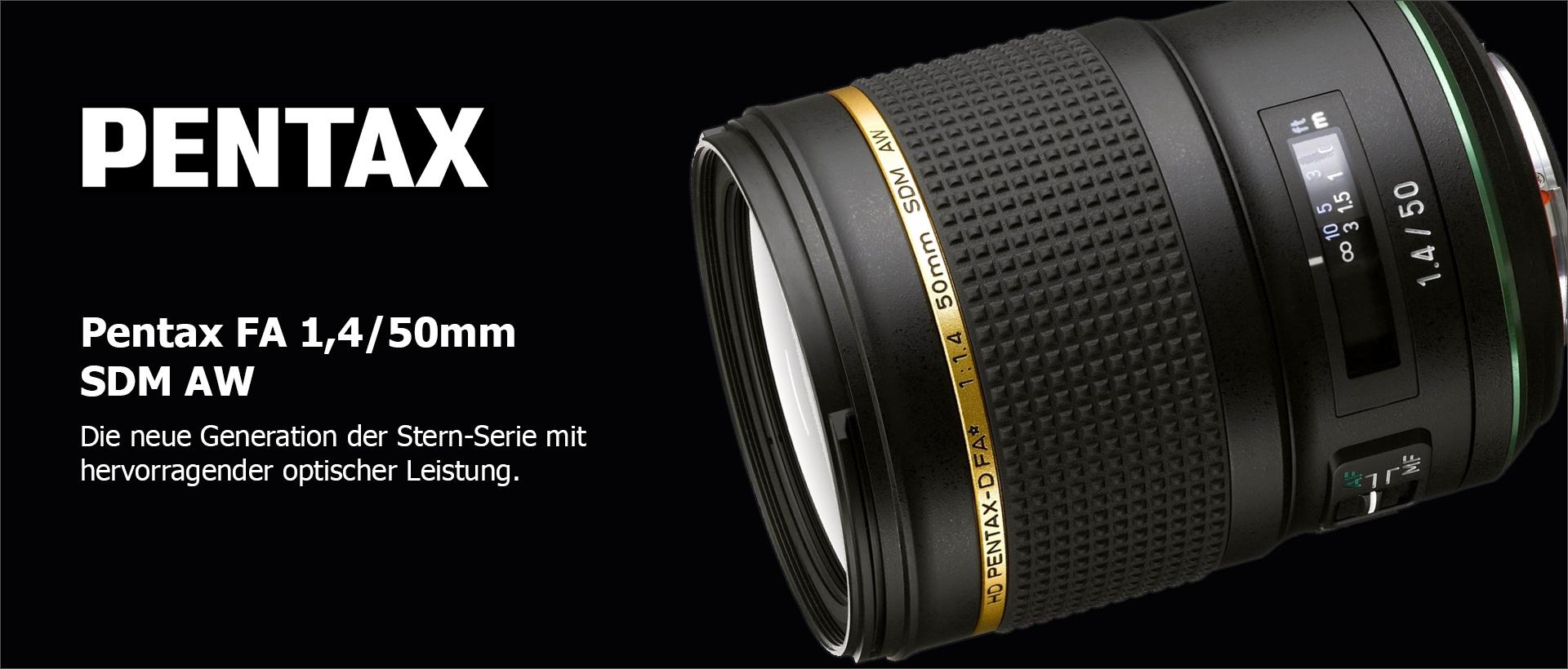 Pentax FA 1,4/50mm SDM AW