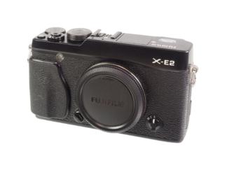 Fuji X-E2 Gehäuse schwarz