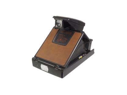 Polaroid SX-70 Alpha braun/schwarz