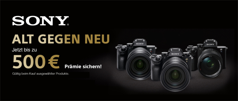 Sony Alt-gegen-Neu Kampagne