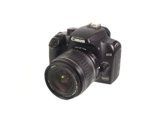 Canon EOS 1000D mit EF-S 3,5-5,6/18-55mm II
