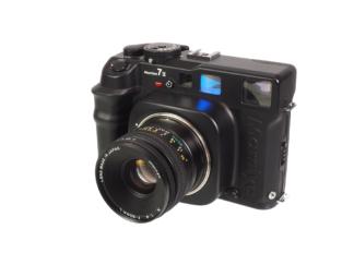 Mamiya 7II schwarz + Sekor 4,0/80mm