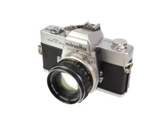 Minolta SRT303 + MC 1,7/55mm