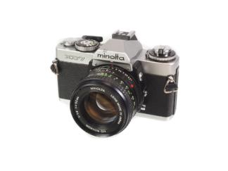 Minolta XD-7 mit MD 1,4/50mm