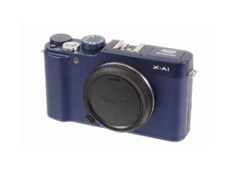 Fuji X-A1 Gehäuse blau