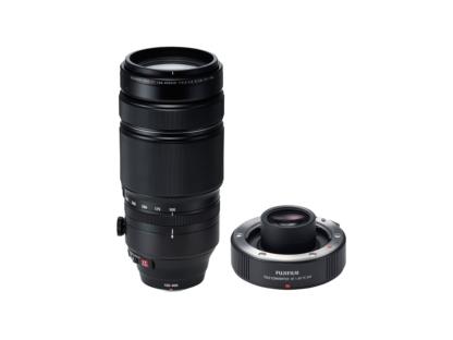 Fujinon XF 4,5-5,6/100-400mm OIS WR + 1,4x TC WR Telekonverter