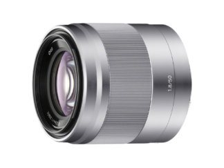 Sony SEL 1,8/50mm silber
