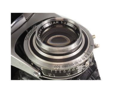 Voigtländer Bessa II Heliar 3,5/105mm