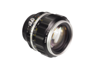 Voigtländer Nokton SL IIs 1,4/58mm Nikon Ais