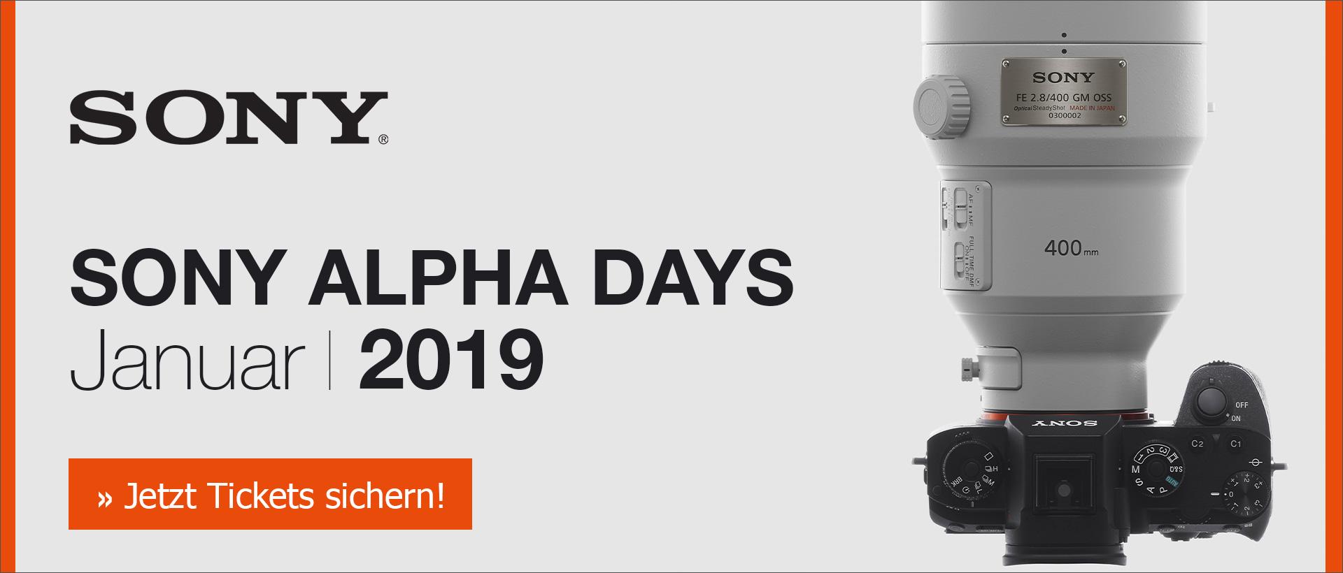 Sony Alpha Days 2019
