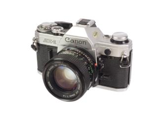 Canon AE-1 + FD 1,4/50mm