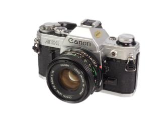 Canon AE-1 + FD 1,8/50mm