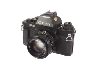 Canon F1n + FD 1,4/50mm