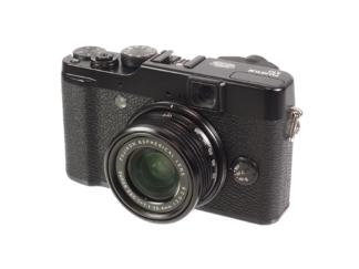 Fuji X10 schwarz