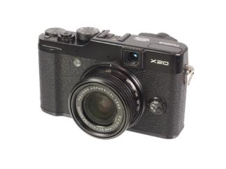 Fuji X20 schwarz