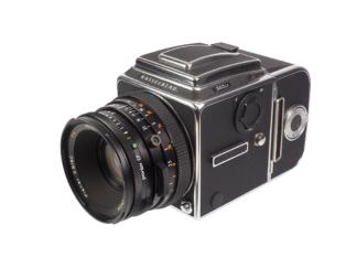 Hasselblad 503CX + CF 2,8/80mm