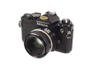 Nikon FE + 1,8/50mm Ai