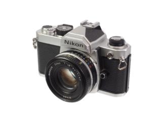 Nikon FM + Nikkor 1,8/50mm Ais
