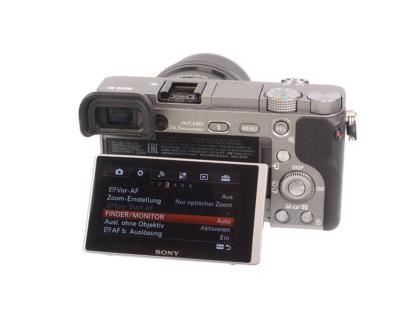 Sony Alpha 6000 graphit + 16-50mm