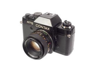Contax RTS + Yashica 1,7/50mm