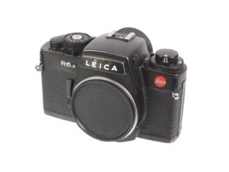 Leicas R6.2 Gehäuse schwarz