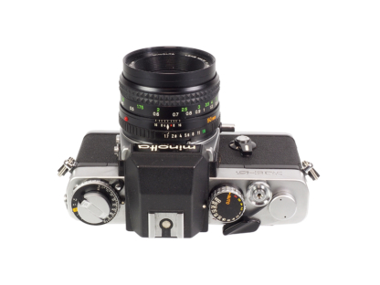 Minolta XE-5 + MD 1,7/50mm