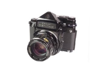 Pentax 6x7 TTL + 2,4/105mm