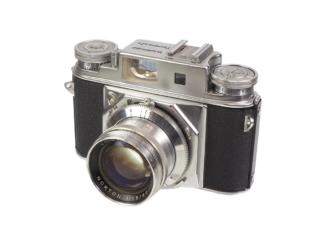 Voigtländer Prominent II + Nokton 1,5/50mm