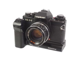 Voigtländer VSL3E + Ultron 1,8/50mm