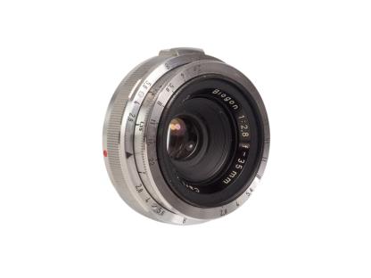 Zeiss Biogon 2,8/35mm + Sucher f. Contax